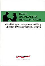 Trainer – Seminaranbieter – Personalentwickler